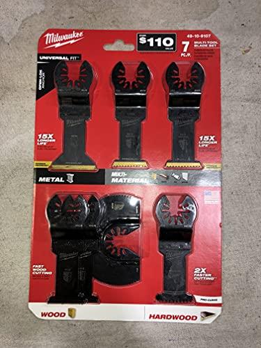 Milwaukee Multi-Tool Blade Set