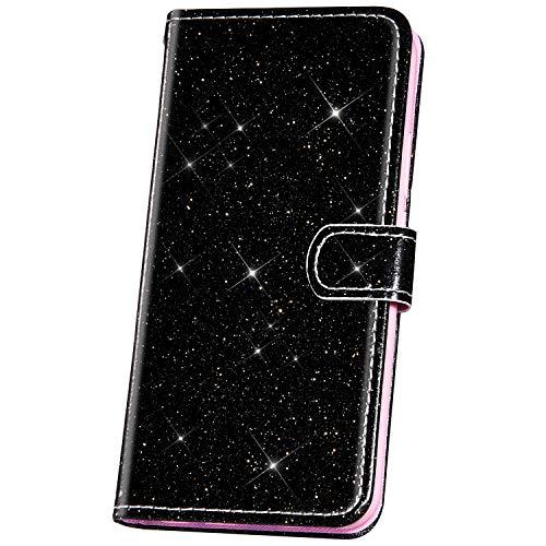 JAWSEU beschermhoes voor Samsung Galaxy S10e Zwarte vleugel