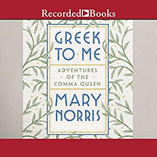 Greek to Me audiobook cover art