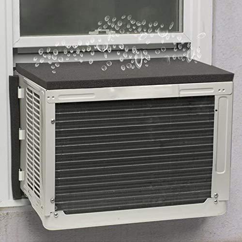 Goodhoily Air Conditioner Drip Cushion Black & AC Rain Cover