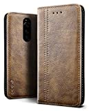 SLEO Case for Sony Xperia 1 Case, Retro Wallet Leather