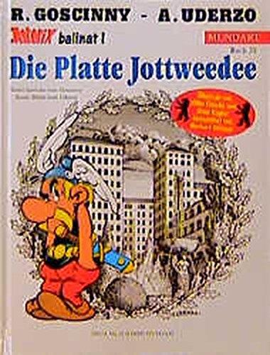 Asterix Mundart Geb, Bd.20, Die Platte Jottweedee