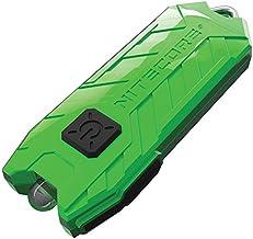 NITECORE Tube-GRN Nitecore Tube USB Rechargeable LED Keylight Pocket Keychain Flashlight (Green), Youth-Unisex, Green