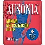 Ausonia - Compresas con normal alas, paquete de 14 unidades