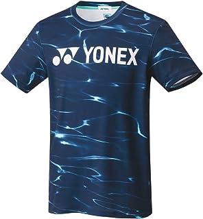 ヨネックス YONEX テニスウェア ユニセックス Tシャツ(フィットスタイル) 16471 019:ネイビーブルー L