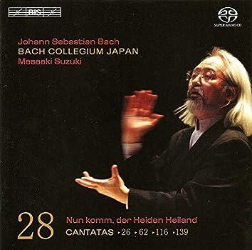 Bach, J.S.: Cantatas, Vol. 28  - Bwv 26, 62, 116, 139