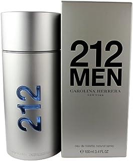 Carolina Herrera 212 Eau de Toilette Spray for Men, 3.4 Fluid Ounce