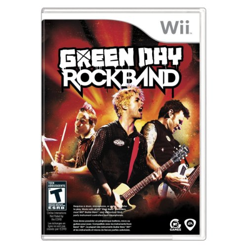 MTV Games  Green Day: Rock Band, Wii