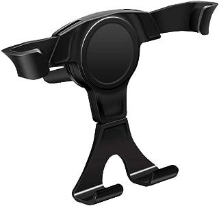 Gravity biltelefonhållare navigation Outlet Bracket för iPhone Xr, Xs, X, Samsung anvisning 9, S9, Huawei, Sony, Htc,Black