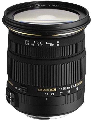 Sigma 17-50 mm F2,8 EX DC HSM-Objektiv (77 mm Filtergewinde) für Pentax Objektivbajonett