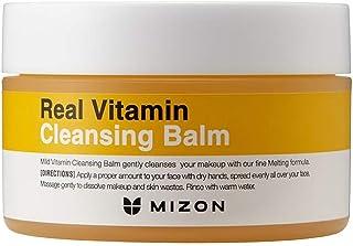 Mizon Real Vita Cleansing Balm, Moisturizing Honey Cleansing Balm, Relaxing Irritated and Sensitive Skin, Soft Melting Bal...