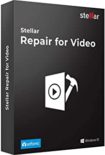 Stellar Repair for Video Software | For Windows | Standard | Repair Corrupt or Damaged Videos | 1 Device, 1 Yr Subscription | CD