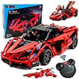 WisePlay RC Car Kits to Build | 380pcs Stem Building Toys for 8 - 10 - 12 Year Old Boys & Girls | Build Your Own RC Car Kit for Kids for 8 9 10 11 and 12 Year Old Boys and Girl