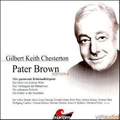 Vier Kriminalgeschichten - Pater Brown (Edition 4) audiobook cover art