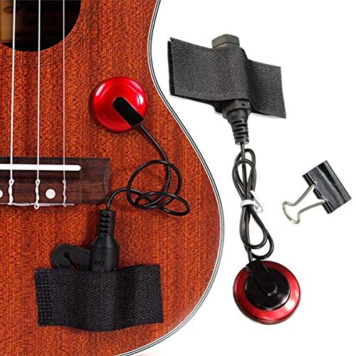 Raitron Piezo Contact Microfoon Pickup met Klemband voor Gitaar Viool Ukulele Banjo