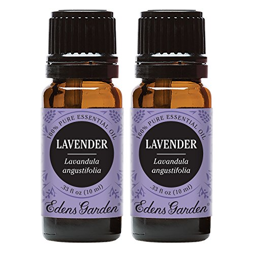 Edens Garden Lavender Essential Oil, 100% Pure Therapeutic Grade (Aromatherapy Oils- Skin Care & Stress), 10 ml Value Pack