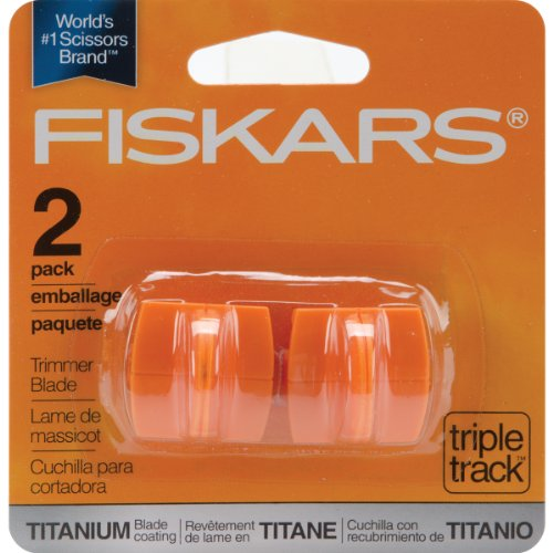 Fiskars 157400-1001 Titanium TripleTrack High Profile Cutting Replacement Blades