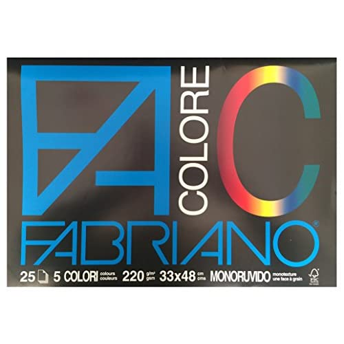 Fabriano 462784 Album da Disegno, 33 x 48 cm, Assortito