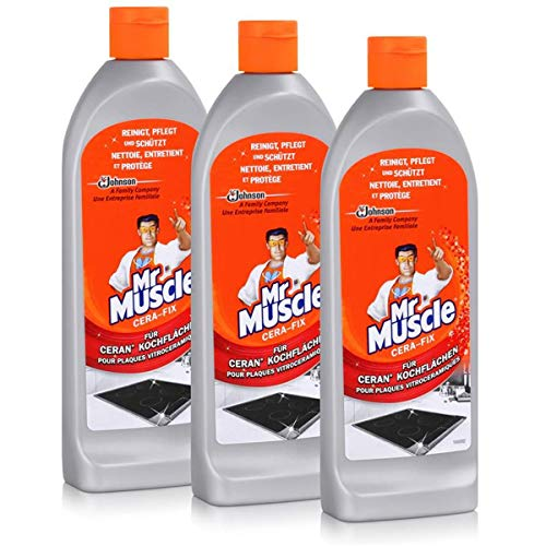 Mr Muscle Cera-fix Glaskeramik- Ceran-Reiniger 200ml (3er Pack)