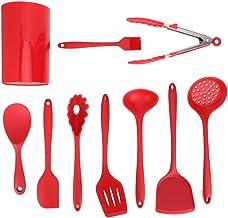 Silicone Cooking Utensils Set, Ergonomic Handle Cooking Utensils Set for Cooking Tool for Kitchen