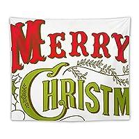 メリークリスマス タペストリー 壁飾り 多機能壁掛け おしゃれ 部屋 窓 トップ飾り 個性ギフト 家庭飾り 装飾用品 新居祝い 贈り物