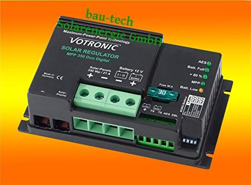 Votronic Laderegler MPPT 350 / 21A / 12V von bau-tech Solarenergie GmbH