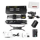 AMBITFUL ZEAPON Micro 2 Mini Portable Ultra Silent Motor Motorized Camera Video Double Distance Parallel Slider Macro Track