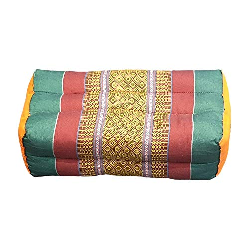 VIE Naturals Kapok Tradicional Tailandés Yoga / Cojín de Meditación, Colores Variados, 35 cm Talla