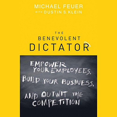 The Benevolent Dictator audiobook cover art