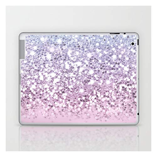 Sparkly Unicorn Pink Glitter Ombre by Rose Gold on Laptop & Tablet Skin - 13' PC Laptop (12.4' x 8.