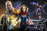 Benutzerdefinierte Leinwand Wandbild Avengers Poster Spider-man Thor Iron Man Aufkleber Marvel Dc...