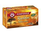 DEU Pompadour 1913 Rooibos (infusión roja) aromático y relajante naturalmente sin teína - 1 x 20 bolsitas de té (35 gramos)