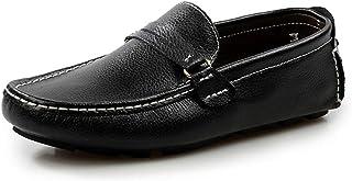 大きいサイズ 革靴 スリッポン 本革 ドライビングシューズ メンズ靴 黒 白 モカシン デッキシューズ カジュアルシューズ ローファー メンズシューズ 通勤 仕事 ブラック ホワイト ブルー ブラウン 24cm-29cm