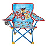 Paw Patrol Kids Camping Chair, Camp Fold N Go Chair with Carry Bag