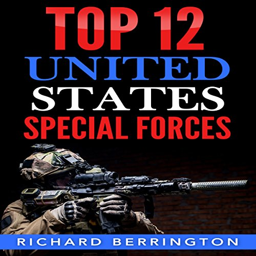 Top 12 United States Special Forces audiobook cover art