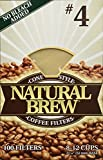 BREWRITE Unk-5320#4 Coffee 3pk x 100 Filters Each, 300 Count, Brown
