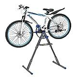 Acero Soporte Bicicletas Suelo Estatica,Bicicleta Soporte Suelo Ajustable, Ligero, Portátil Soporte Bicicletas Suelo Estatica para La Reparación Mecánica Del Hogar De Bicicletas De Carretera Y Mo