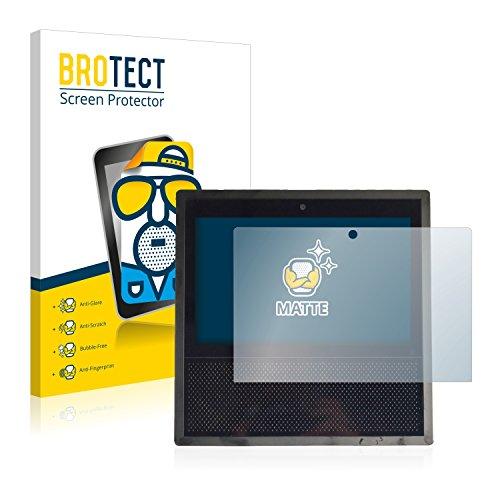 BROTECT 2X Entspiegelungs-Schutzfolie kompatibel mit Amazon Echo Show 2017 (1. Generation) Bildschirmschutz-Folie Matt, Anti-Reflex, Anti-Fingerprint