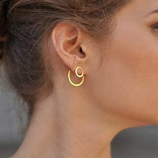 modern earring