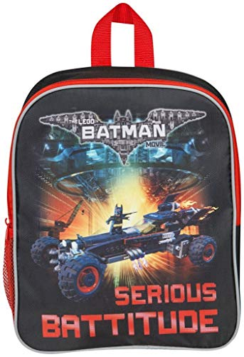 Official DC Comic Legos Batman Kids Backpack Cabin Luggage School Lunch Bag Movie