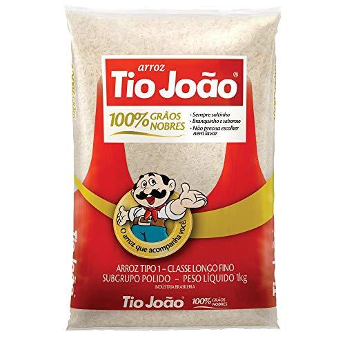 Brasilianischer weisser Reis, TIO JOAO, Langkorn, Premiumqualität, Beutel 1 kg.