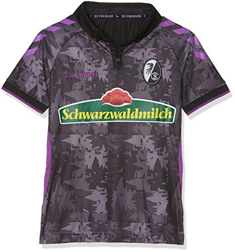 hummel Jungen SCF 3RD Jersey KA 17-18 Trikot, Black/Purple, 164