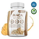 Maca andina negra con Omega 3, L-Arginina Alfa-cetoglutarato, Vitaminas y Zinc. Única Maca con Omega 3 del mercado. NOVONATUR. (120)