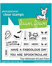 """Lawn Fawn Lawn Fawn Clear Stamps 3""""X2"""" LF2020 Tiny Halloween"""