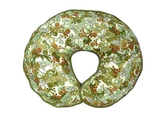 Nursing Pillow Cover Camo Skulls for Baby Boy or Girl