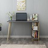KayRana ELAS Study Desk Anthracite Oak