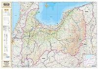 スクリーンマップ 分県地図 富山県 (ポスター地図 | マップル)