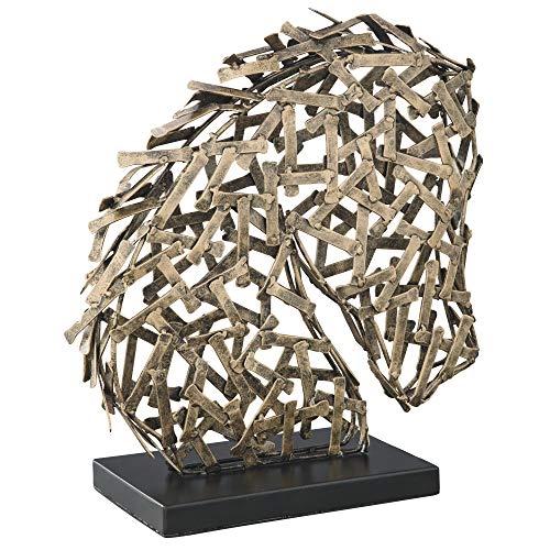 Signature Design by Ashley Ashley Furniture Signature Design-Nahla Sculpture, Gold/Black