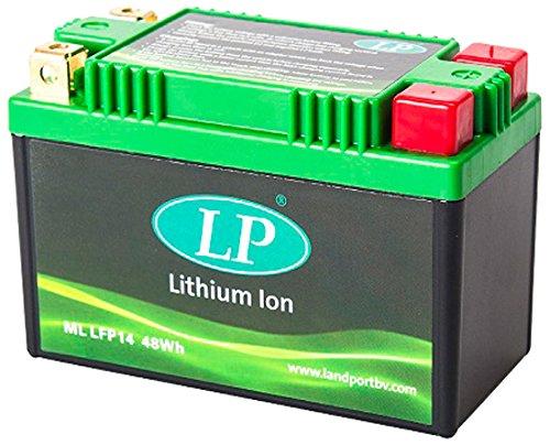 Accossato ML LFP14-25 Batteria al Litio per Aprilia Leonardo, ST, SP, 250, (1999-2004)