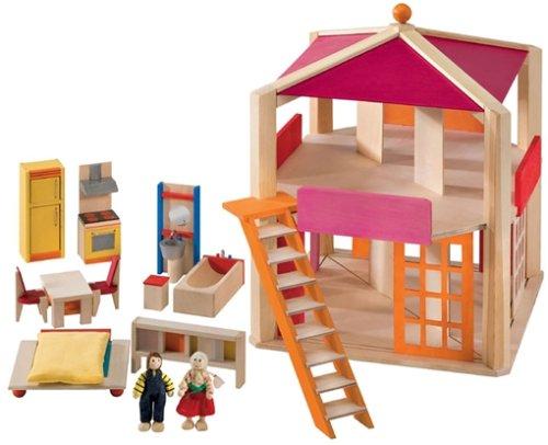 Selecta 4262 - Casa Rosa Puppenhäuser